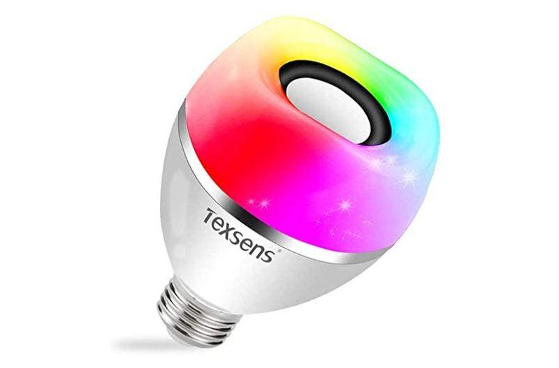 smart light bulb Bluetooth speaker