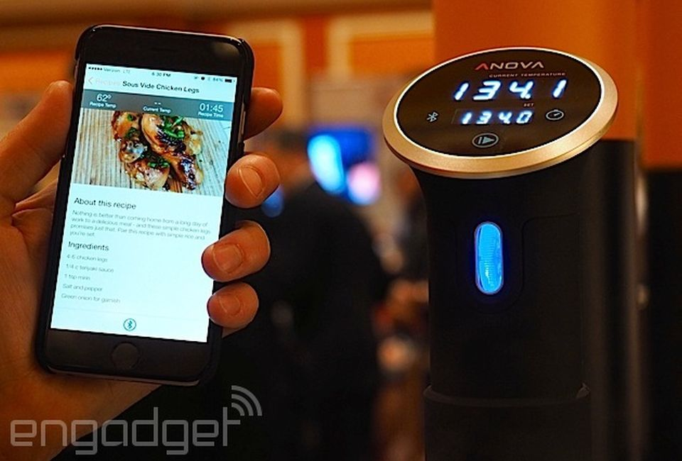 Anova's Wi-Fi enabled Precision Cooker