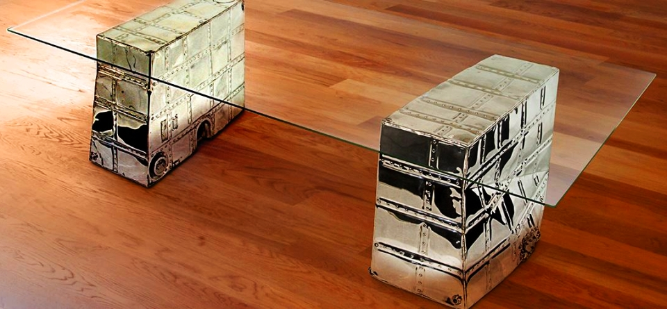 C-45 Fuel Tank Table by MotoArt