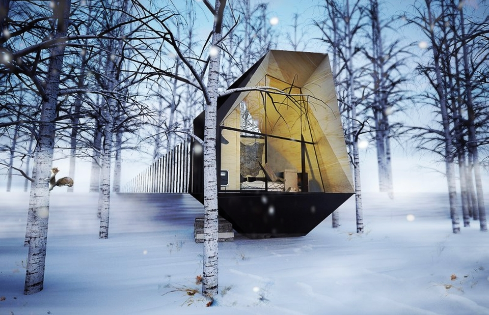 Cabin in the Woods by At26