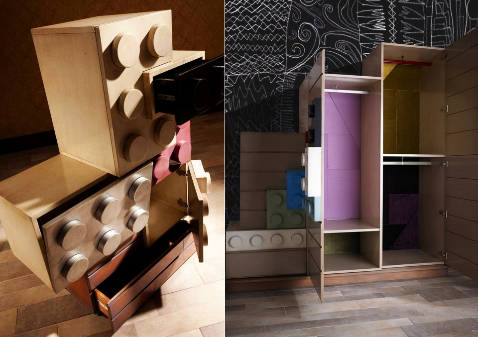 Lego-inspired Furniture by Lola Glamour