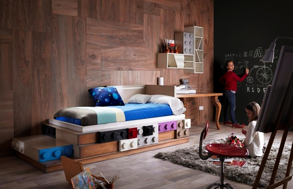 Lego-Inspired Kid's Furniture