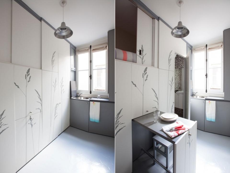 Miniature Paris Apartment by Kitoko Studio
