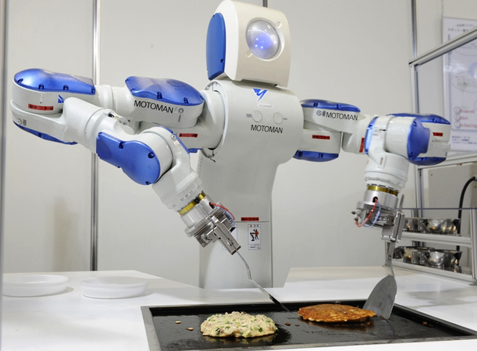 Pioneering robotic chefs cook for humans