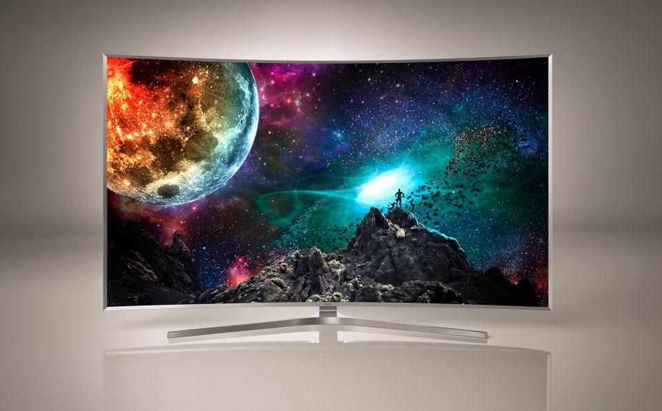 Samsung SUHD TV powered by Tinzen
