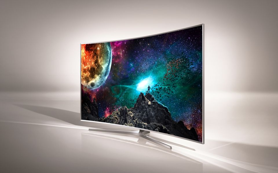 Samsung SUHD TV powered by Tinzen