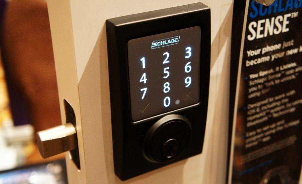 Schlage smart deadbolt unlocks with your voice