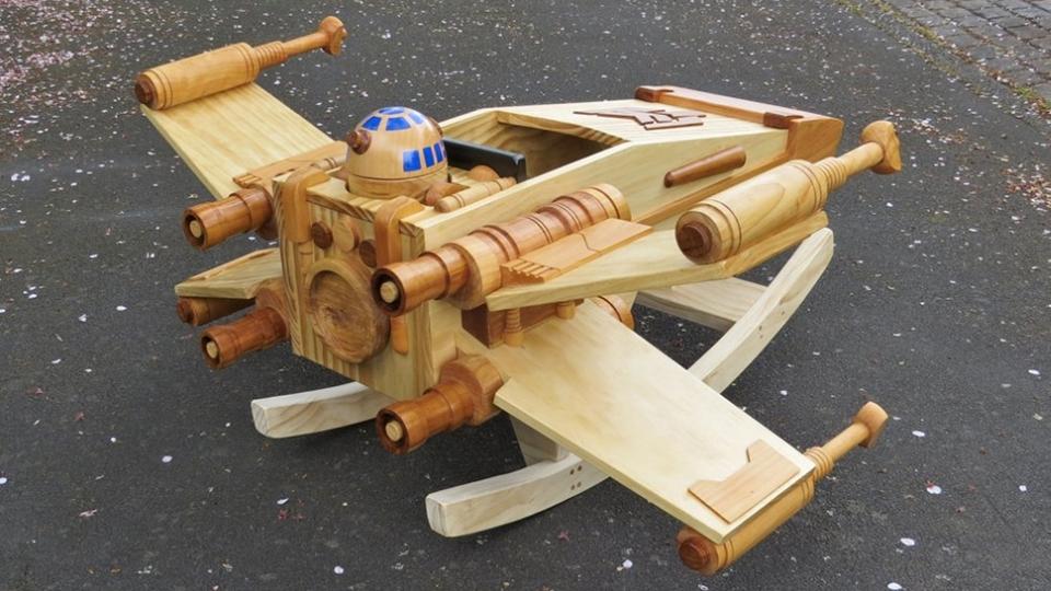 Star Wars-themed X-Wing Rocker