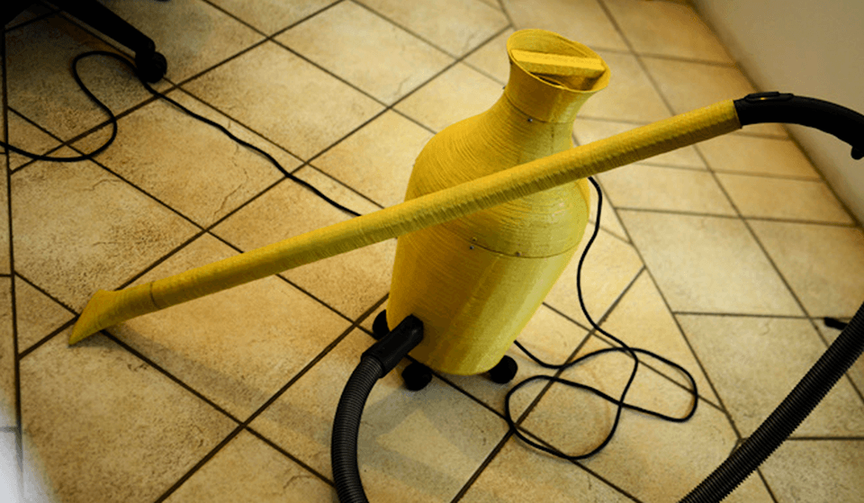 The World's First 3D Printed Vacuum Cleaner