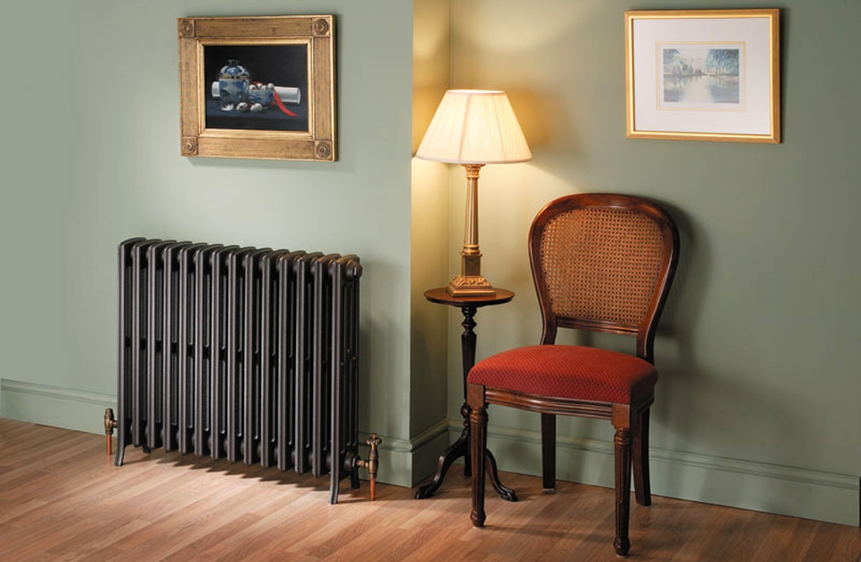 Vintage home radiator for efficiency and beauty