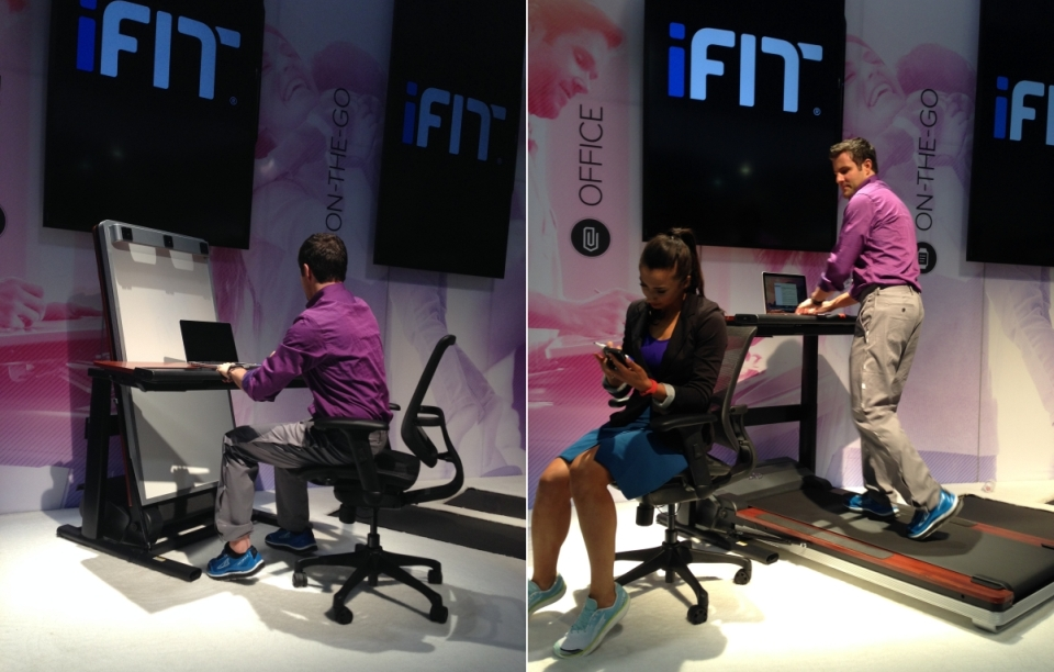 iFit Desk Treadmill