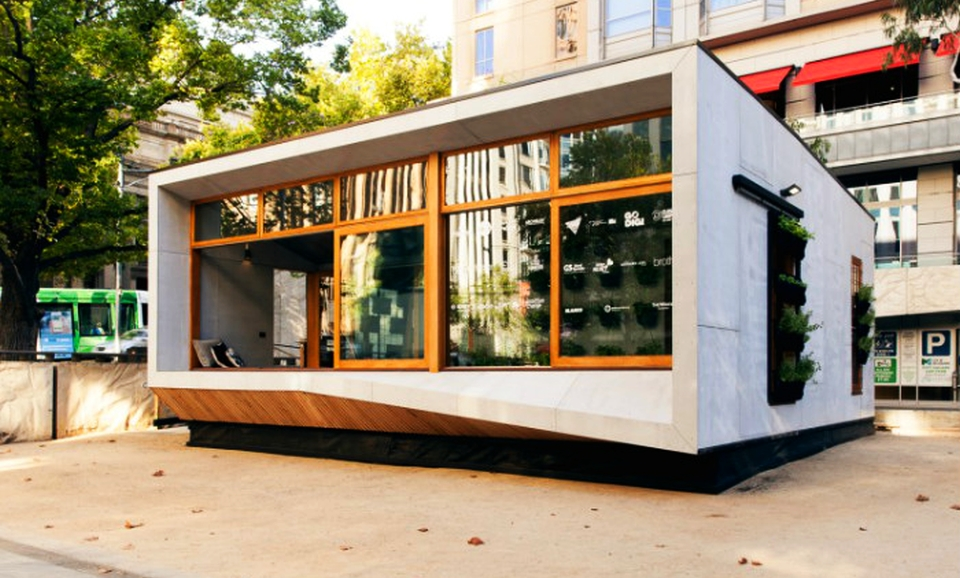 Archiblox Carbon-positive Prefab Home