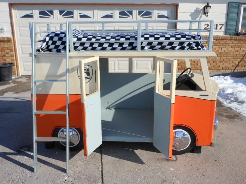 DIY Volkswagen Bunk Bed