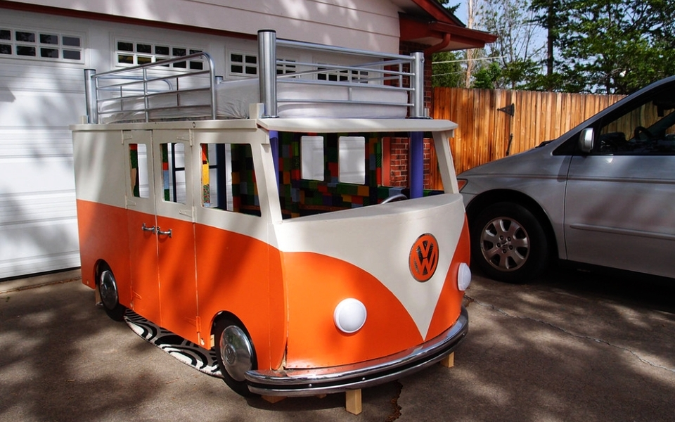 DIY Volkswagen Bunk Bed