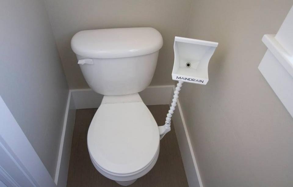 Main Drain Urinal