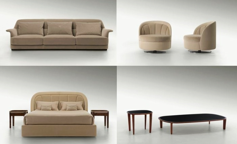Travel-inspired Home Furniture Line by Bentley