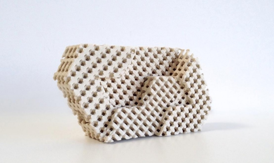 3D Printed Cool Bricks by Emerging Objects