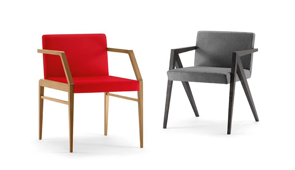 Carre and Sagitta Chairs by Cizeta for Milan Furniture Fair 2015