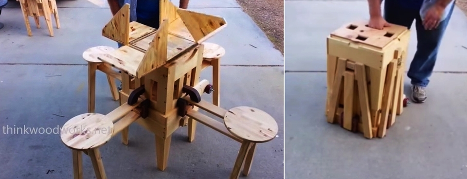 The Eizzy Folding Table