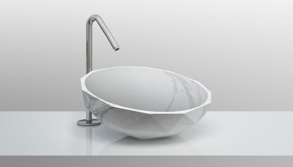 Diamond Washbasin by Paolo Ulian and Moreno Ratti