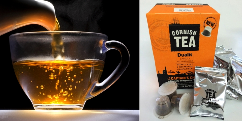 Dualit's Nespresso-Compatible Cornish Tea Pods