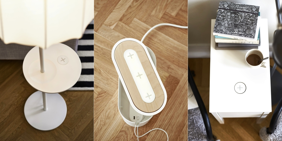 Ikea Furniture Line Charges Smartphones Wirelessly