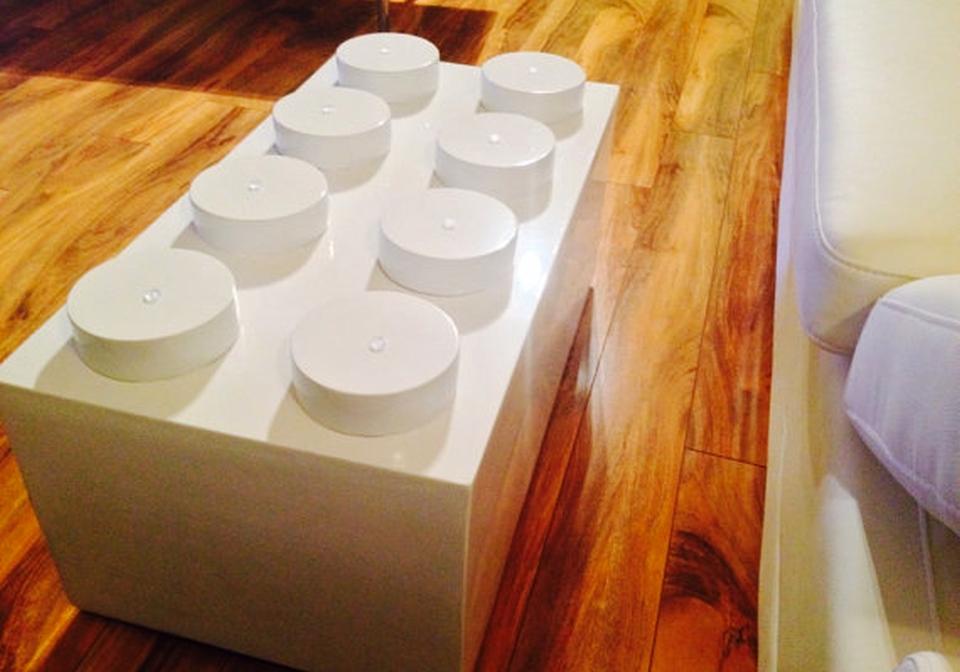 lego brick coffee table