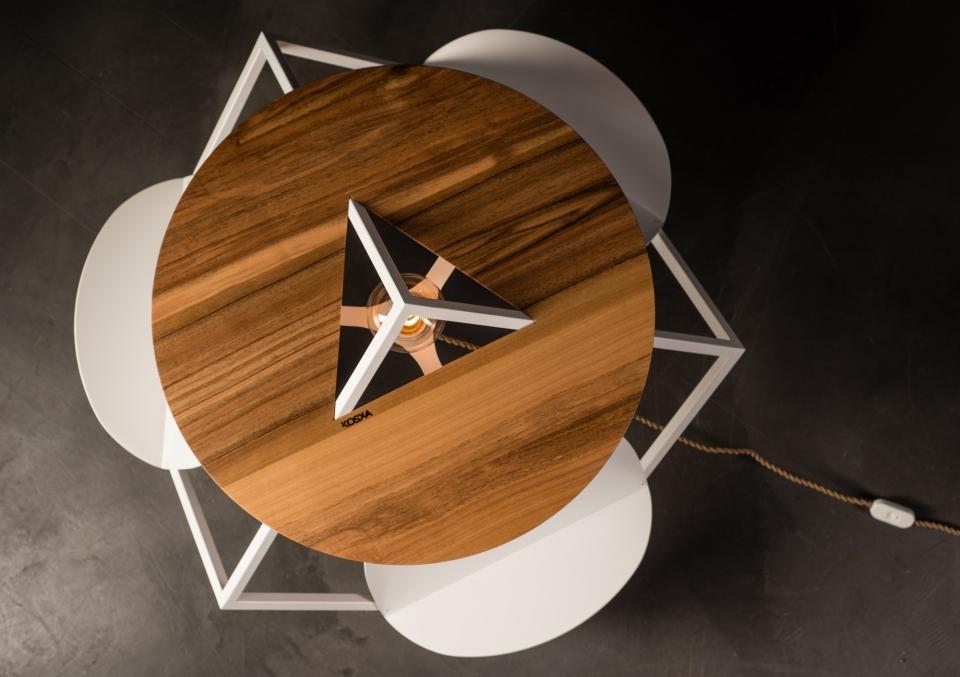 Lightbrary Table by Mickael Koska