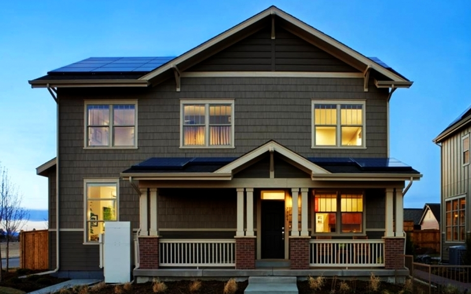 New Town Builders' Net-zero Energy Homes