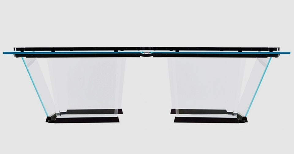 Teckell Lo Scuro Crystal Pool Table