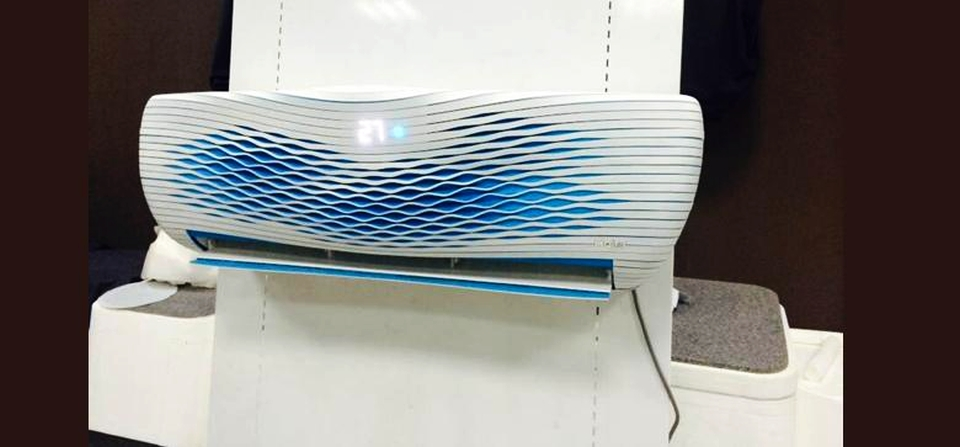 World's First 3D Printed Air Conditioner