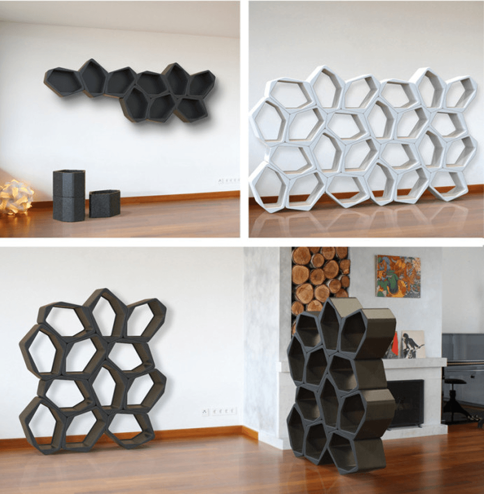 Can be used to create free standing and room dividers