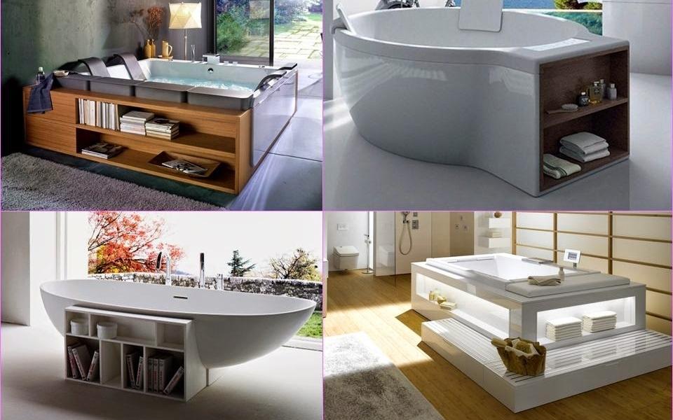 Bathtubs-with-storage-shelves