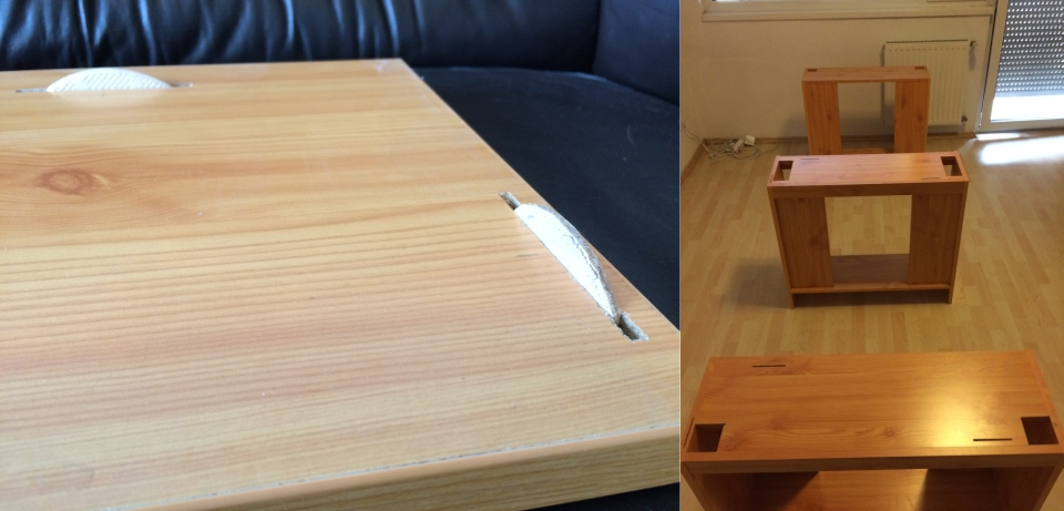 Clever Table Design by Redditor