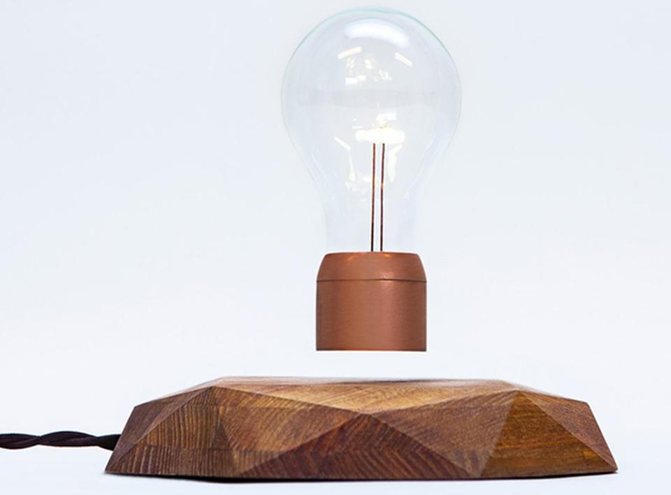 Flyte Levitating Lightbulb by Simon Morris