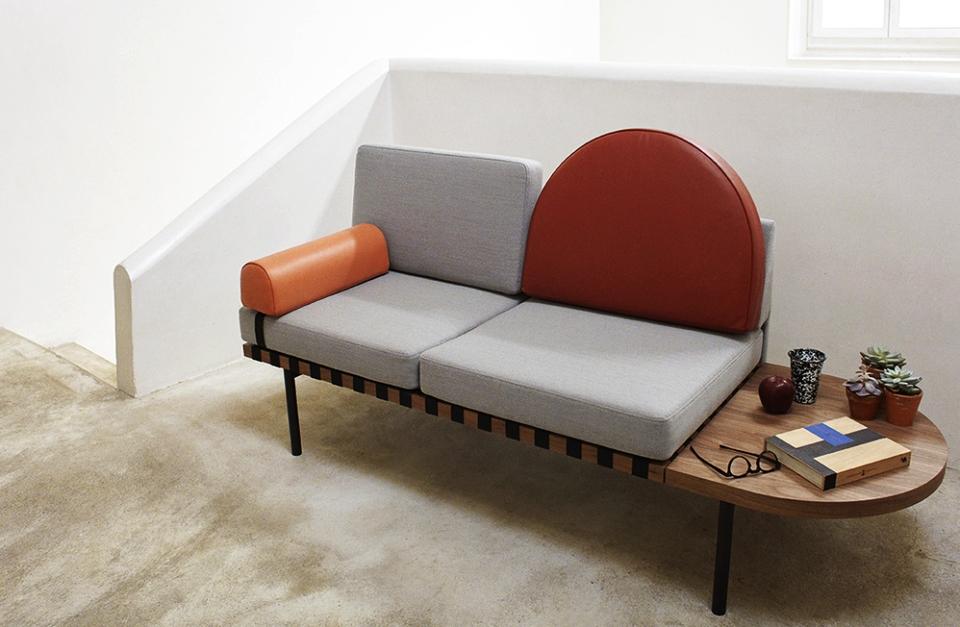 Grid Sofa-cum-Daybed by Studio Pool