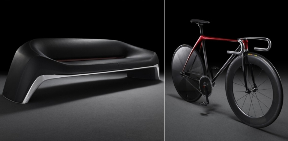 KODO-Inspired Furniture and Bicycle by Mazda in Milan Furniture Fair 2015