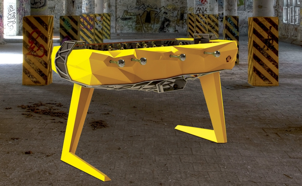 Le Debuch' Foosball Table by Debuchy by Toulet
