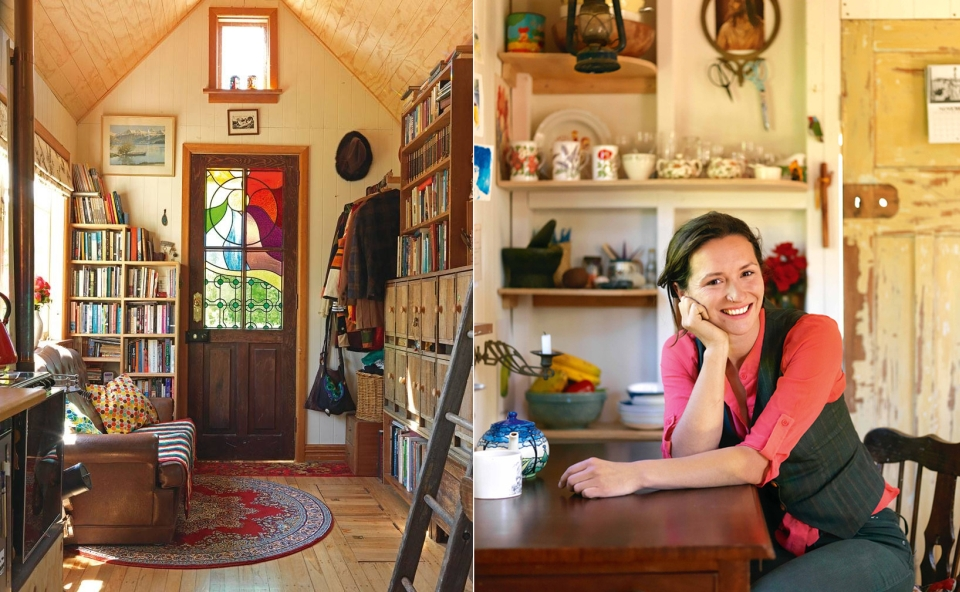 Lily Duval's 14sqm tiny house