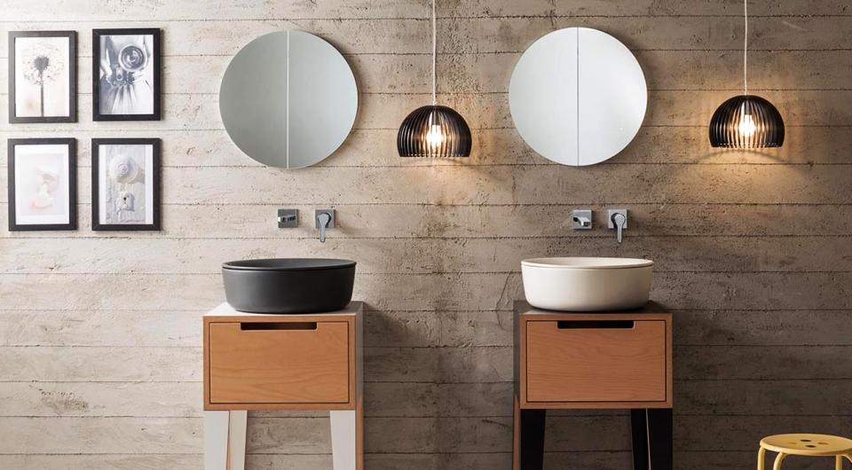 Mizu Ceramic Washbasins by Scarabeo Ceramiche