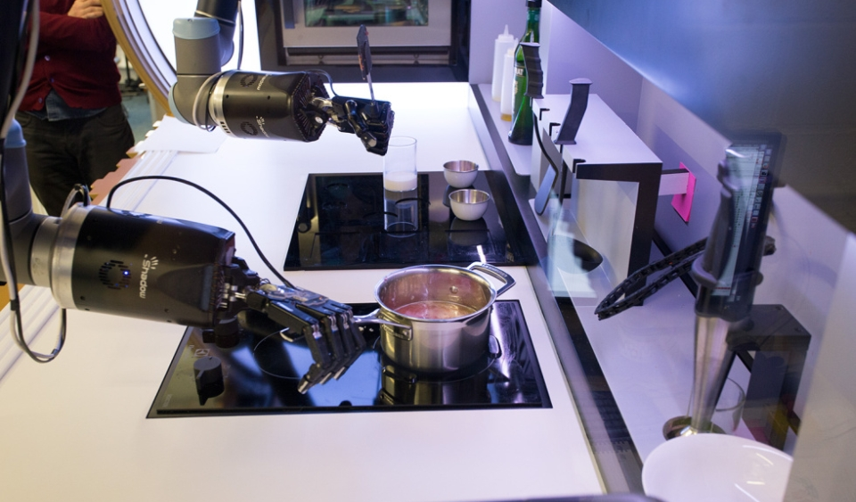 Moley robotic chefs cook meals with human-like precision