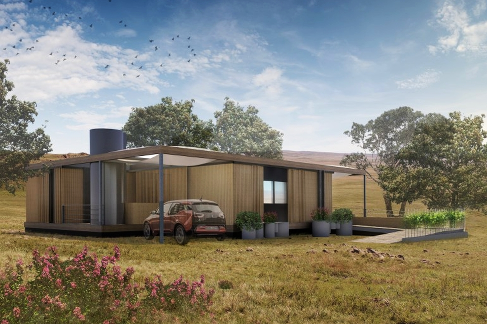 NexusHaus eco-home for Solar Decathlon Competition 2015