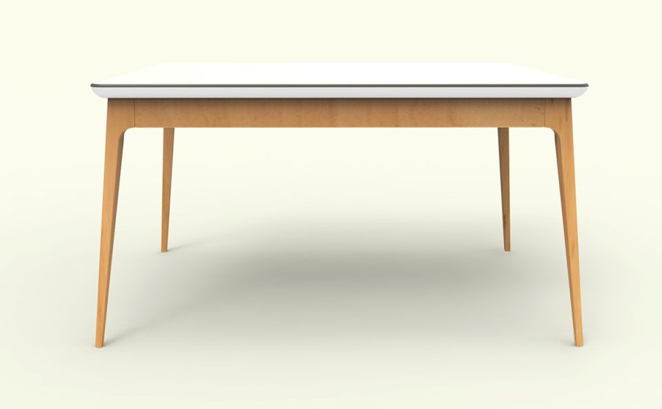 Folding table  which can also be placed inside the sofa-cum-bed