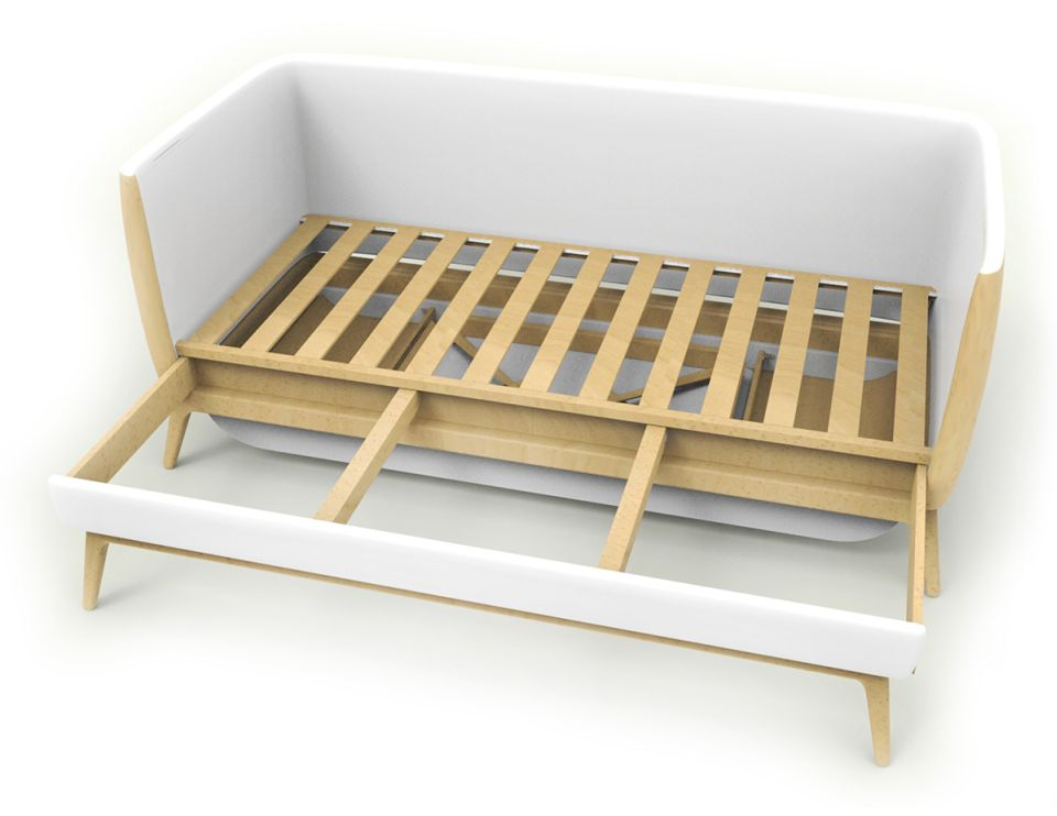 Simply pull out the bed frames and your single bed is ready