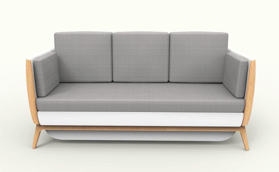 Pandora sofa-cum-bed, suitable for single occupants