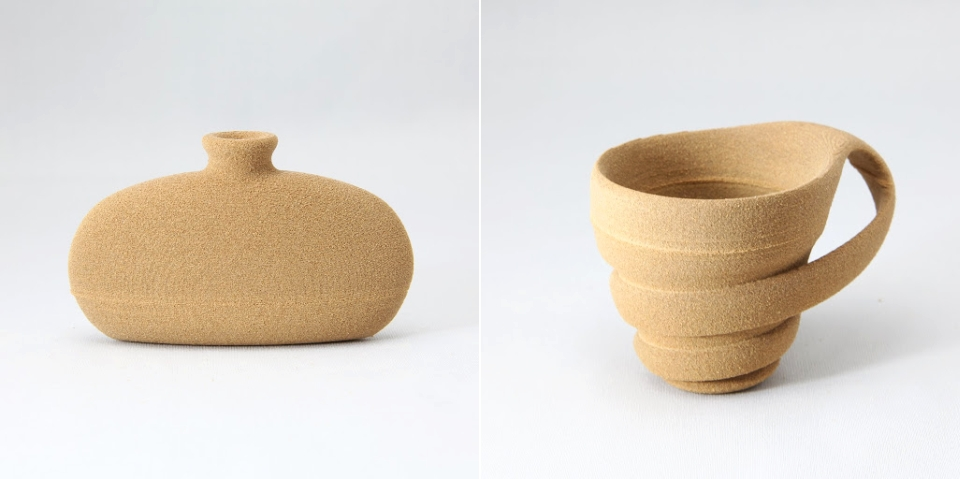 Rinkak's wood-like 3D printed beverage containers