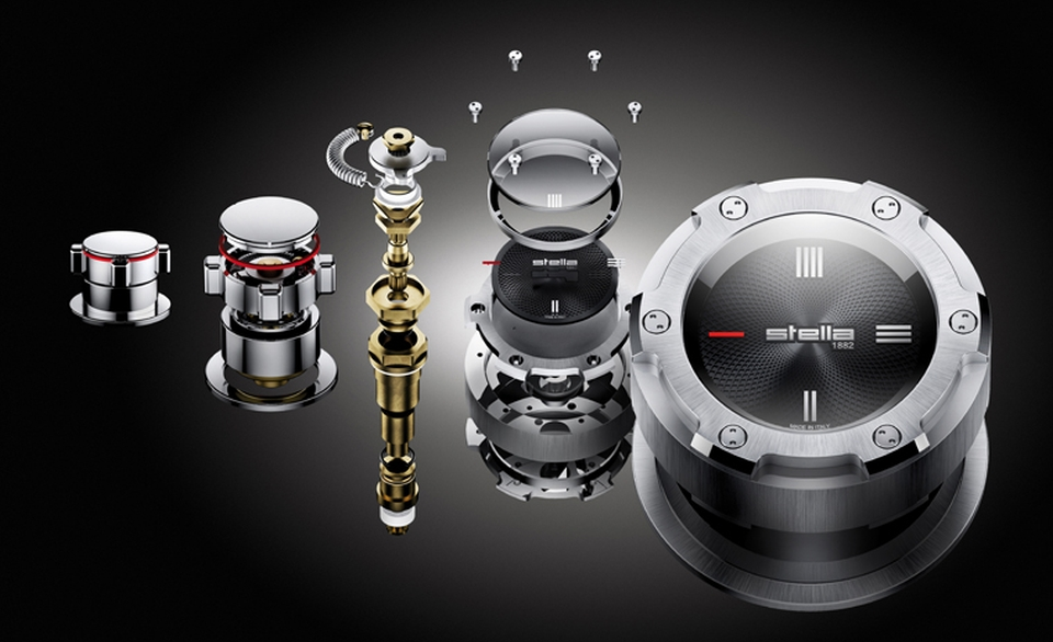 Time Aster Collection by Rubinetterie Stella