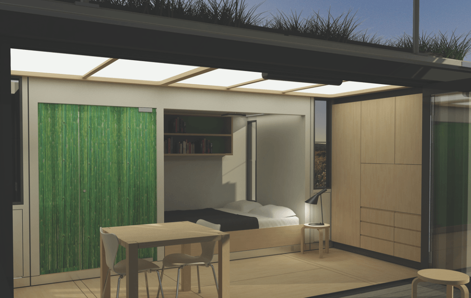 Transportable Pop-up Hotel by Rollick Hotels