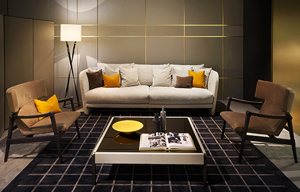 Trussardi House Luxury Collection at Milan Furniture Fair 2015