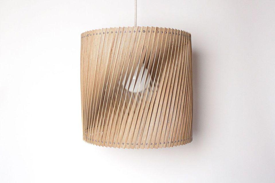Upcycle lamp Twist